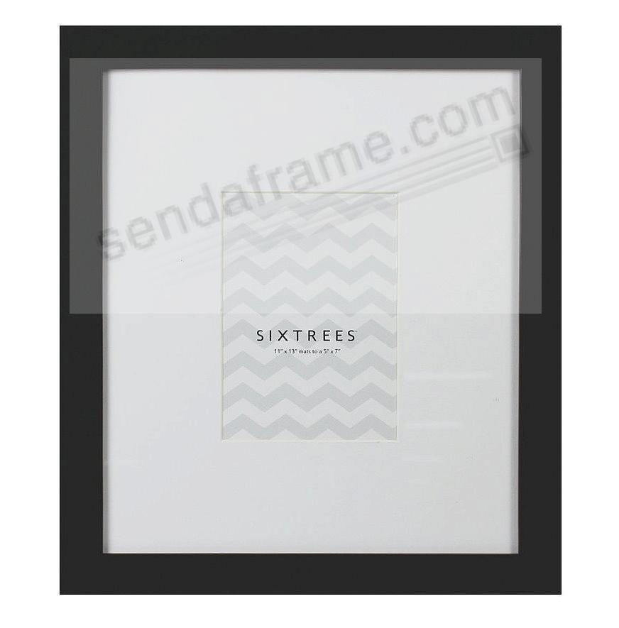 Black Matted 11x13 5x7 Frame By Sixtrees 174 Picture Frames