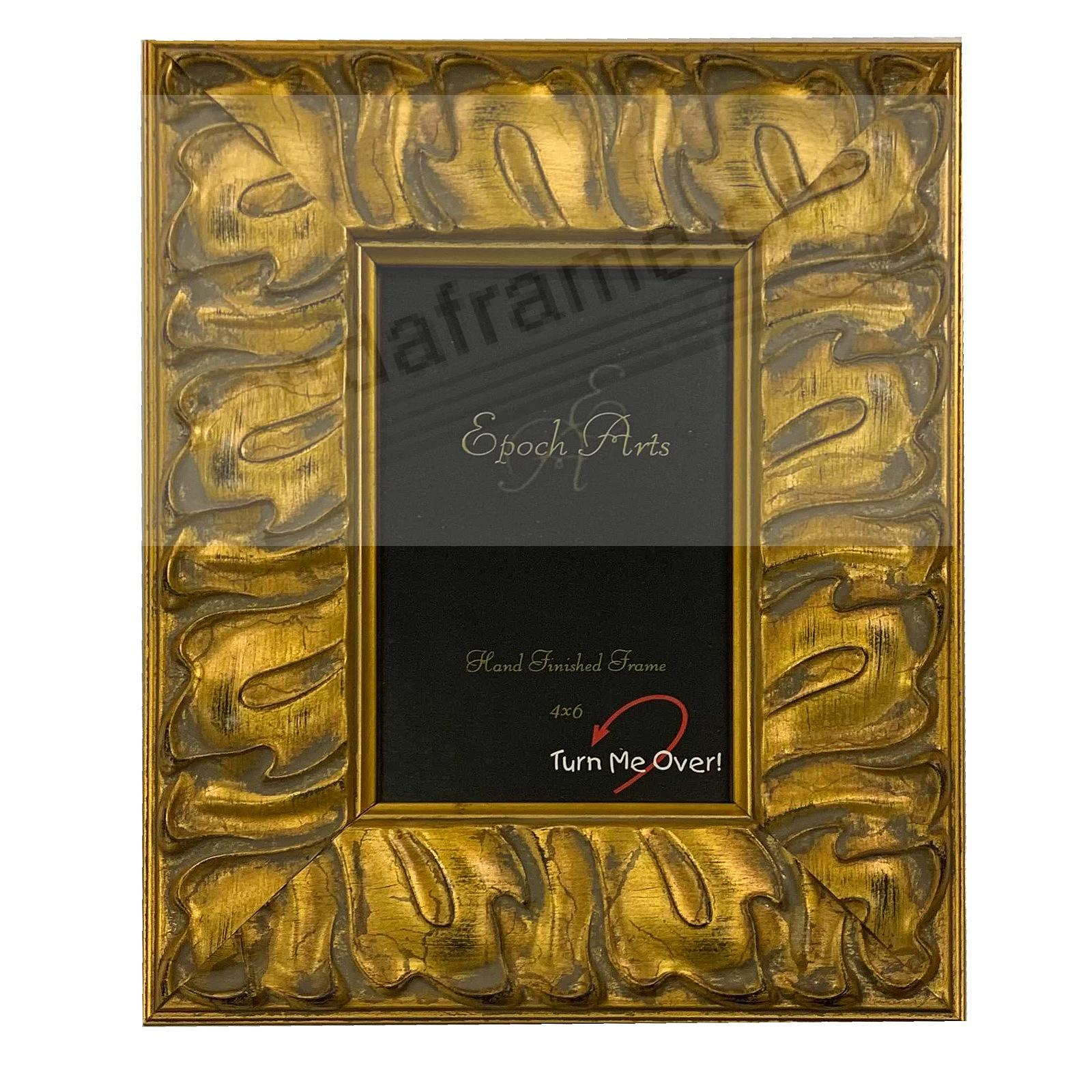 WREATH GOLD 5x7 by Epoch Arts®