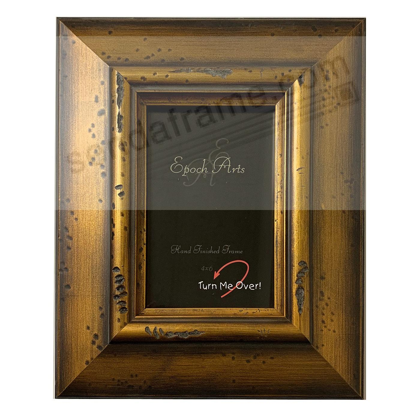 DISTRESSED GOLD 4x5 by Epoch Arts® - Picture Frames, Photo Albums ...