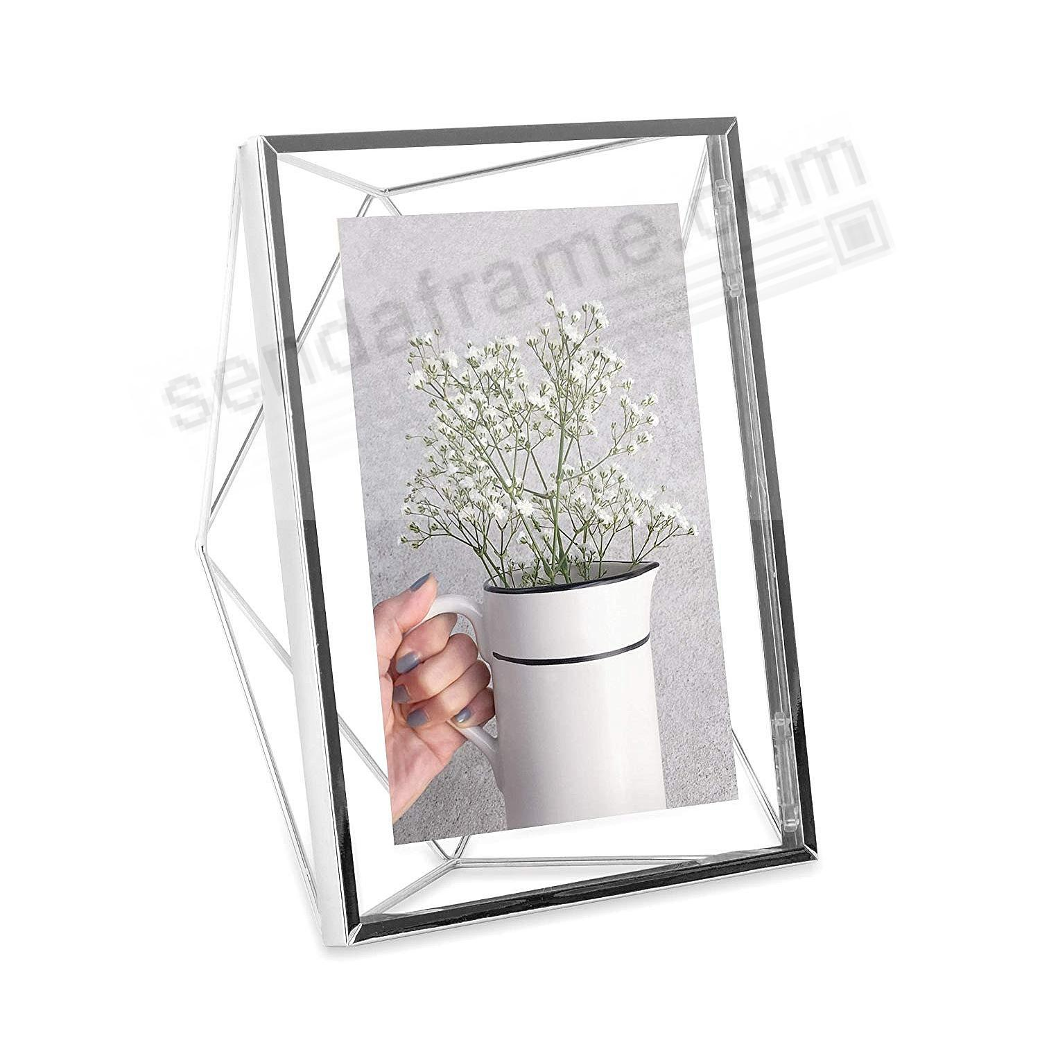 The Original PRISMA Photo Display Chrome 5x7 frame by Umbra®