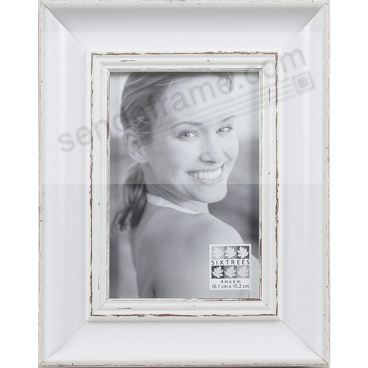 White Washed Wood Picture Frames Choice Image - origami instructions ...
