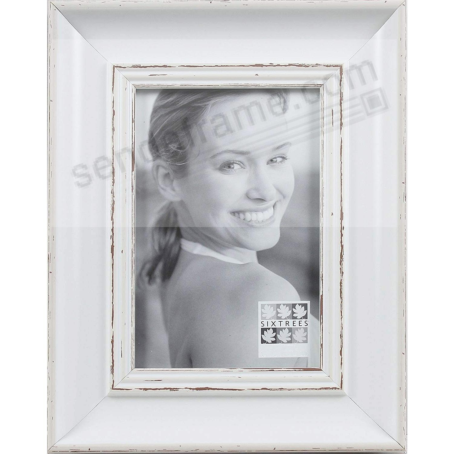 LIGHT WHITEWASH collection wood 5x7 frame by Sixtrees®