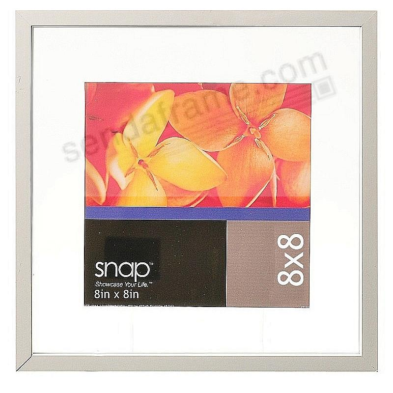 White Float Frame 8x8/4x4 by SNAP™ - Picture Frames, Photo Albums ...