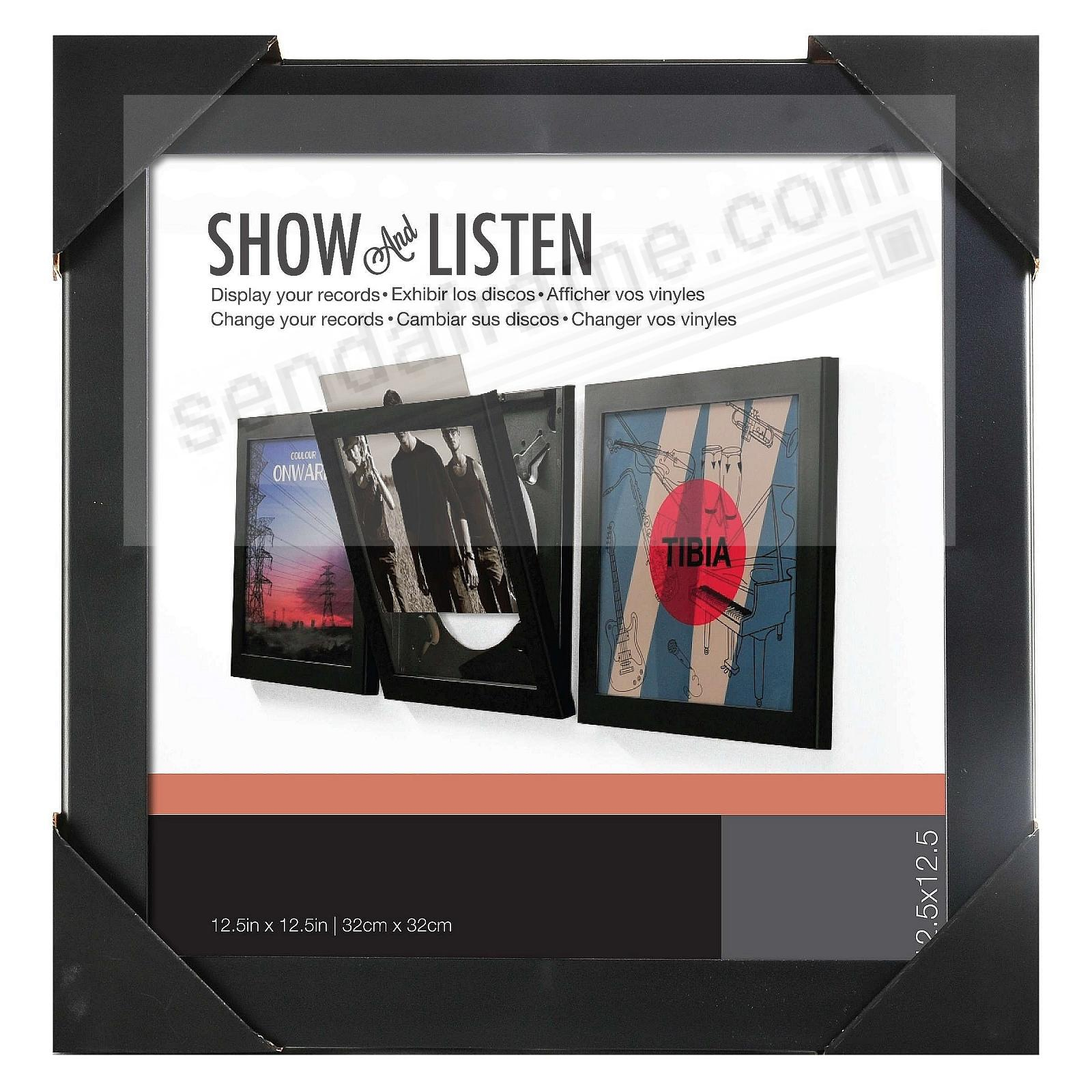 Show And Listen Vinyl Record Frame By Snap Picture
