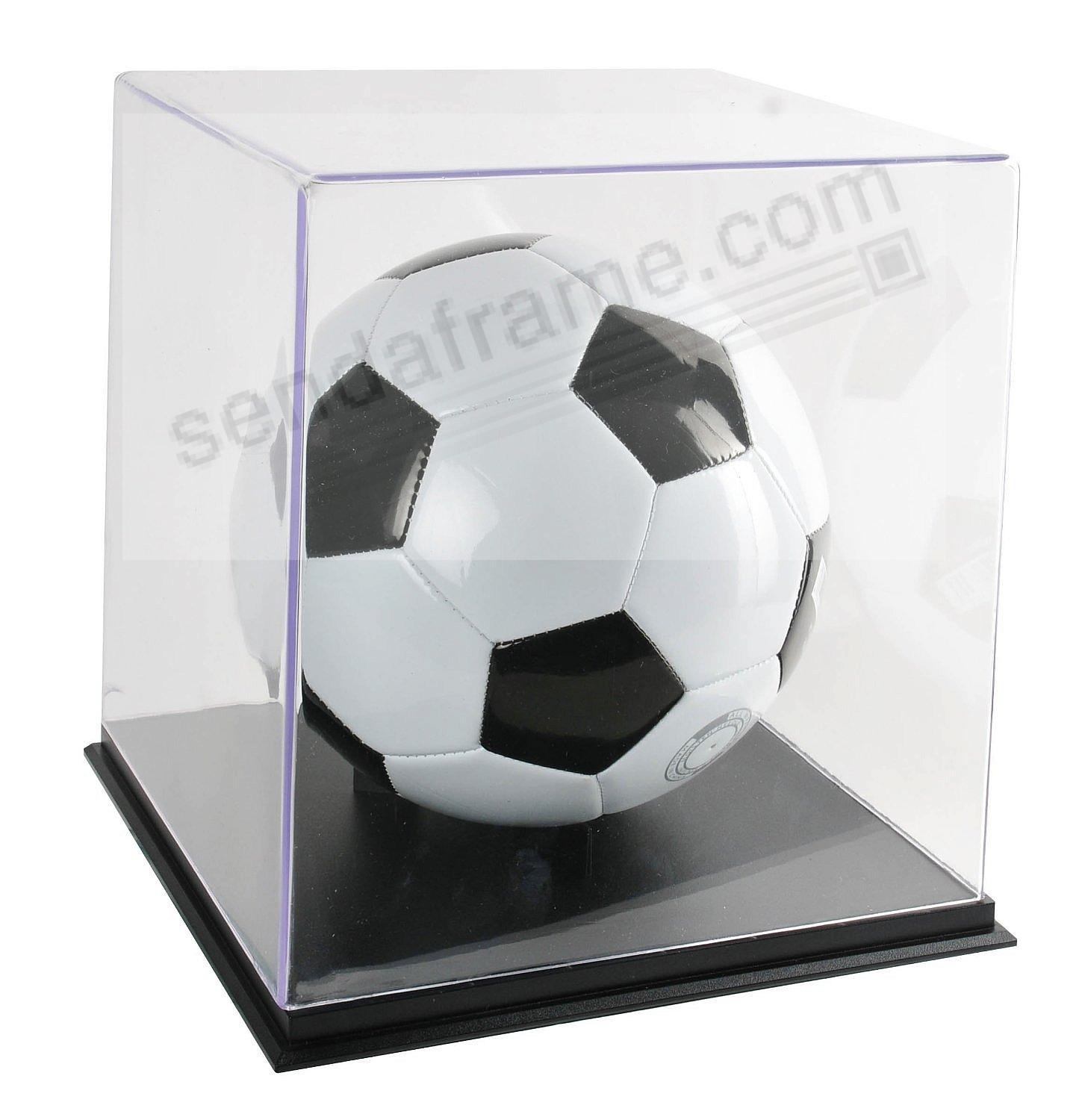 Clear COLLECTORS CASE BOX for Basketballs/Soccer Balls by SNAP ...