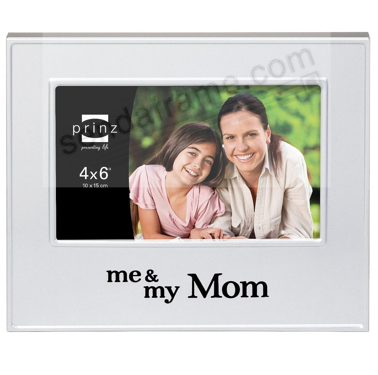 ME & MY MOM Brushed Silver 6x4 frame by Prinz® - Picture Frames ...
