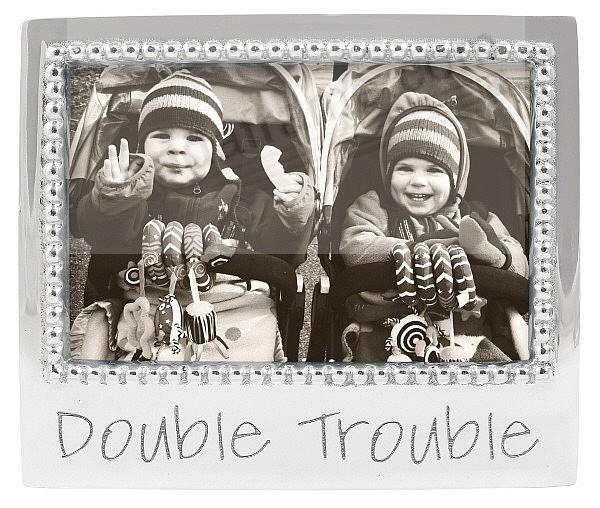 DOUBLE TROUBLE frame for 6x4 photos crafted by Mariposa®