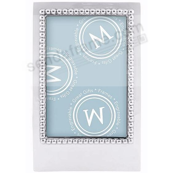 The original BLANK STATEMENT 4x6 frame by Mariposa® ... Beautifully Engraveable!