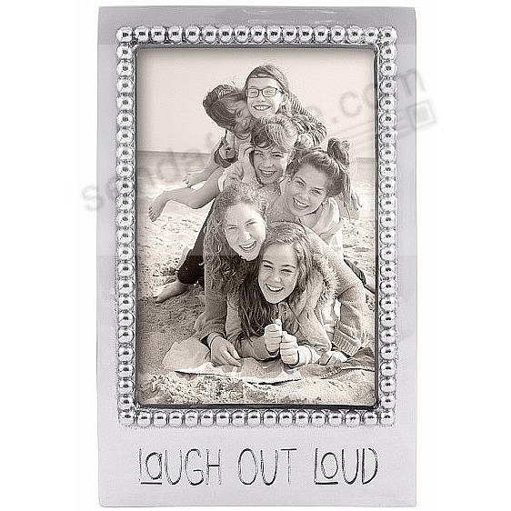LAUGH OUT LOUD Statement frame crafted by Mariposa®