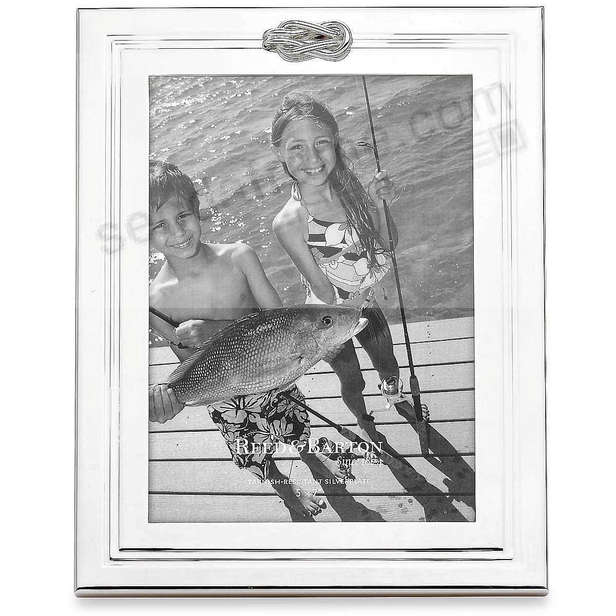 The Original FOREVER Silverplate 5x7 frame by Reed & Barton®