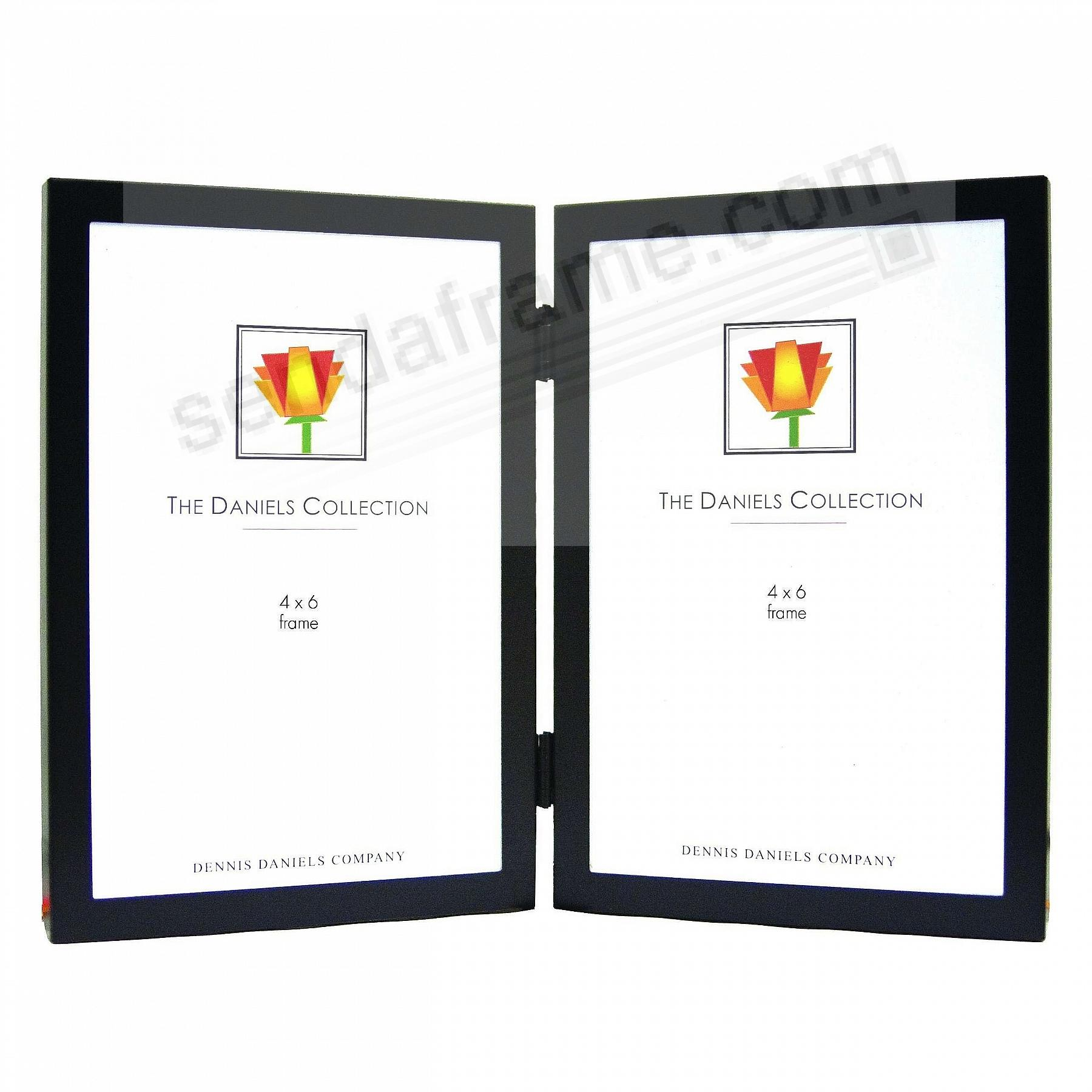 The Aluminum Series in Black - 4x6 hinged - by Dennis Daniels®
