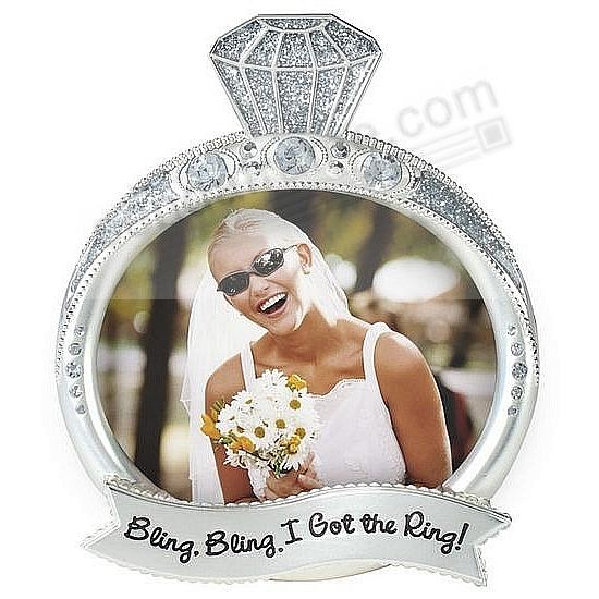 BLING BLING - I GOT THE RING in silver and crystal by Malden®