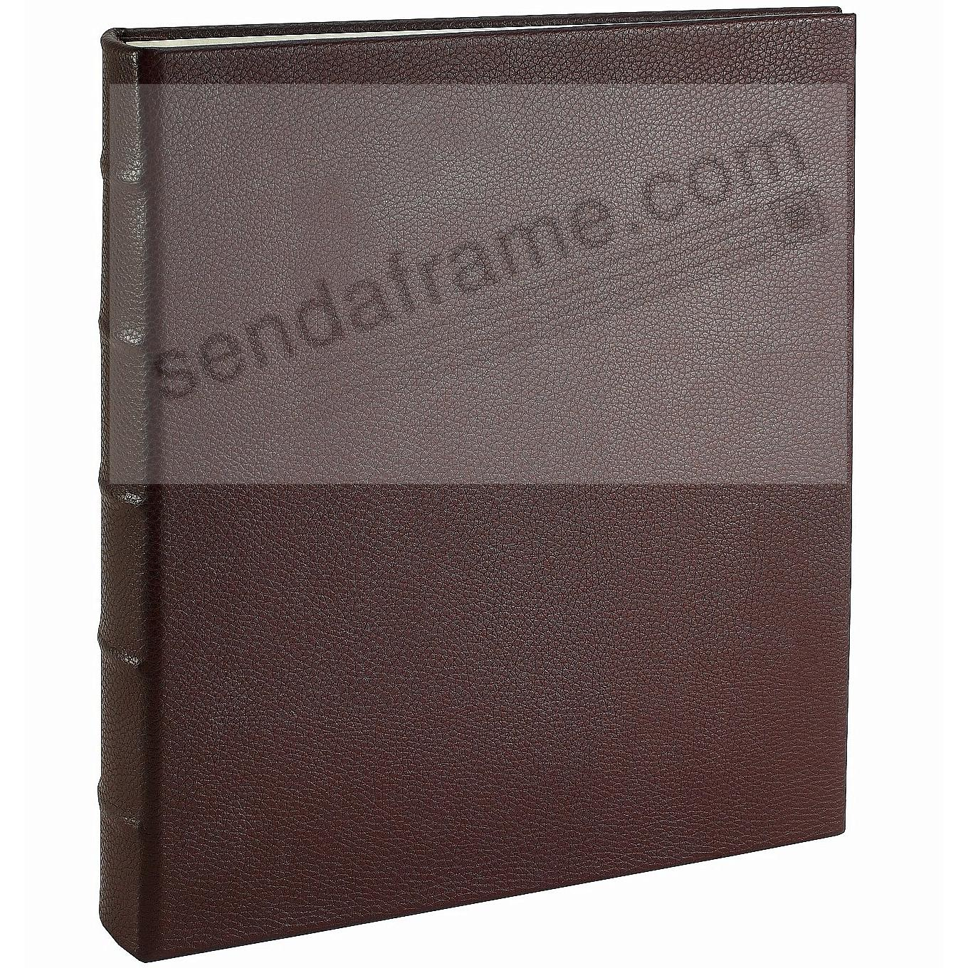 Post Impressions™ System Standard 3-ring  Binder Pebble-Brown Eco-leather (unfilled)