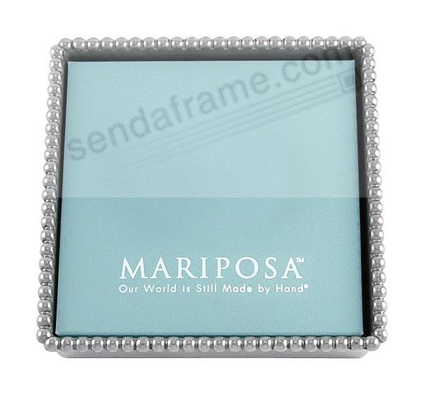 The Original BEADED NAPKIN BOX by Mariposa®