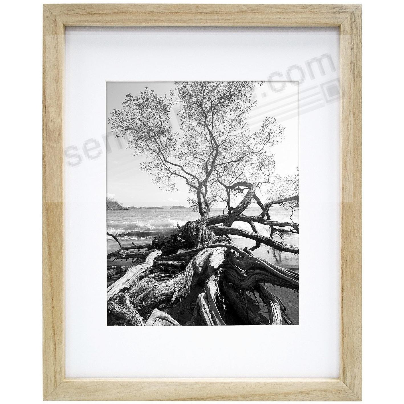 Art Shadow-Box ¾in depth Natural Wood 11x14/8x10 frame by MCS ...