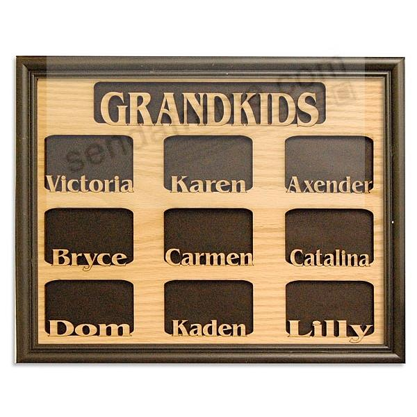 A Special GRANDKIDS Name Frame - Personalized for you