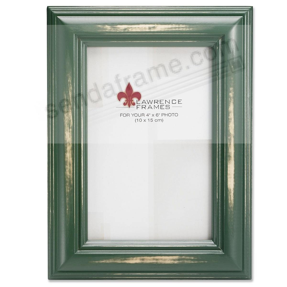 Weathered/Antique Green Wood Frame by Lawrence® - Picture Frames ...