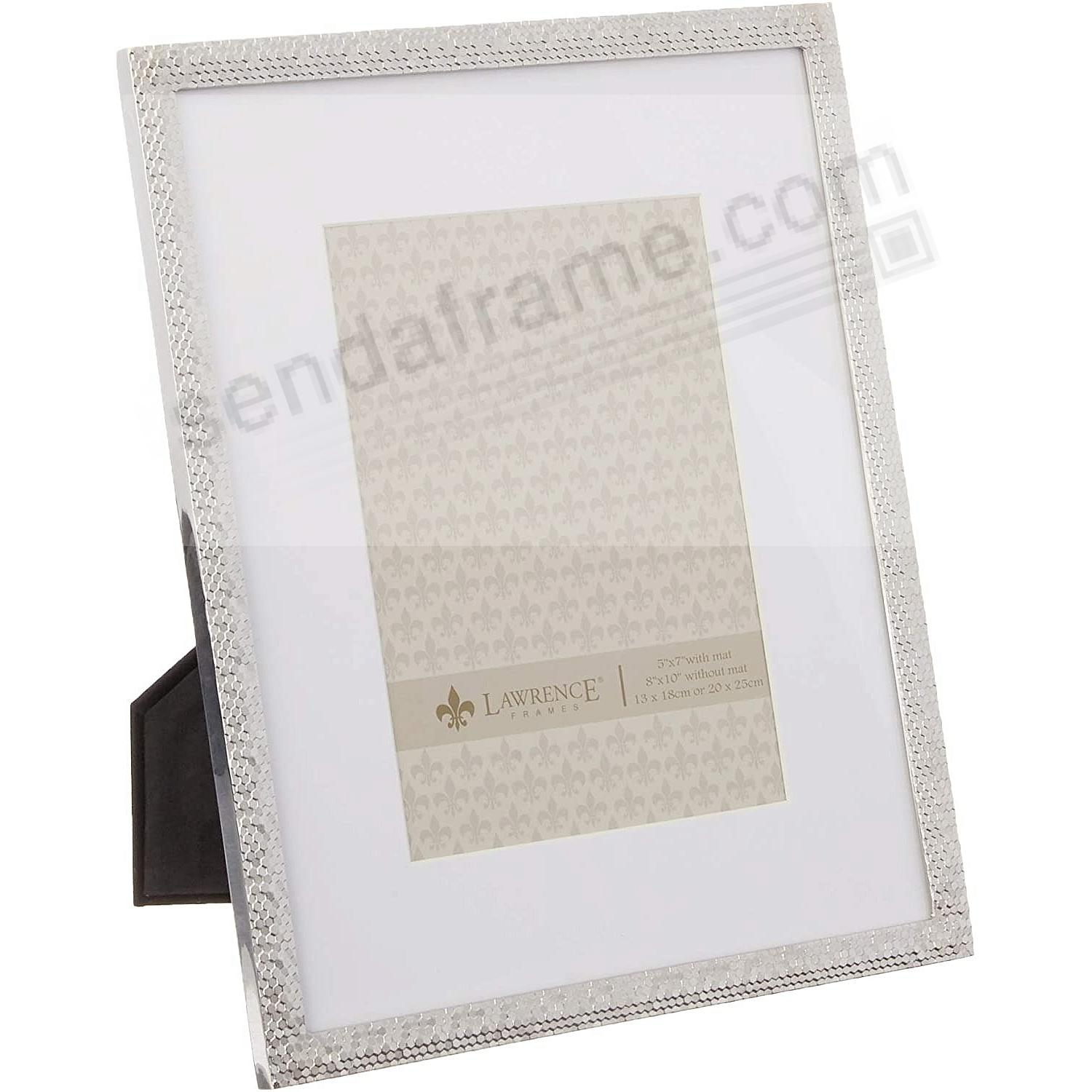 Silverplate SHIMMER 5x7/8x10 by Lawrence®
