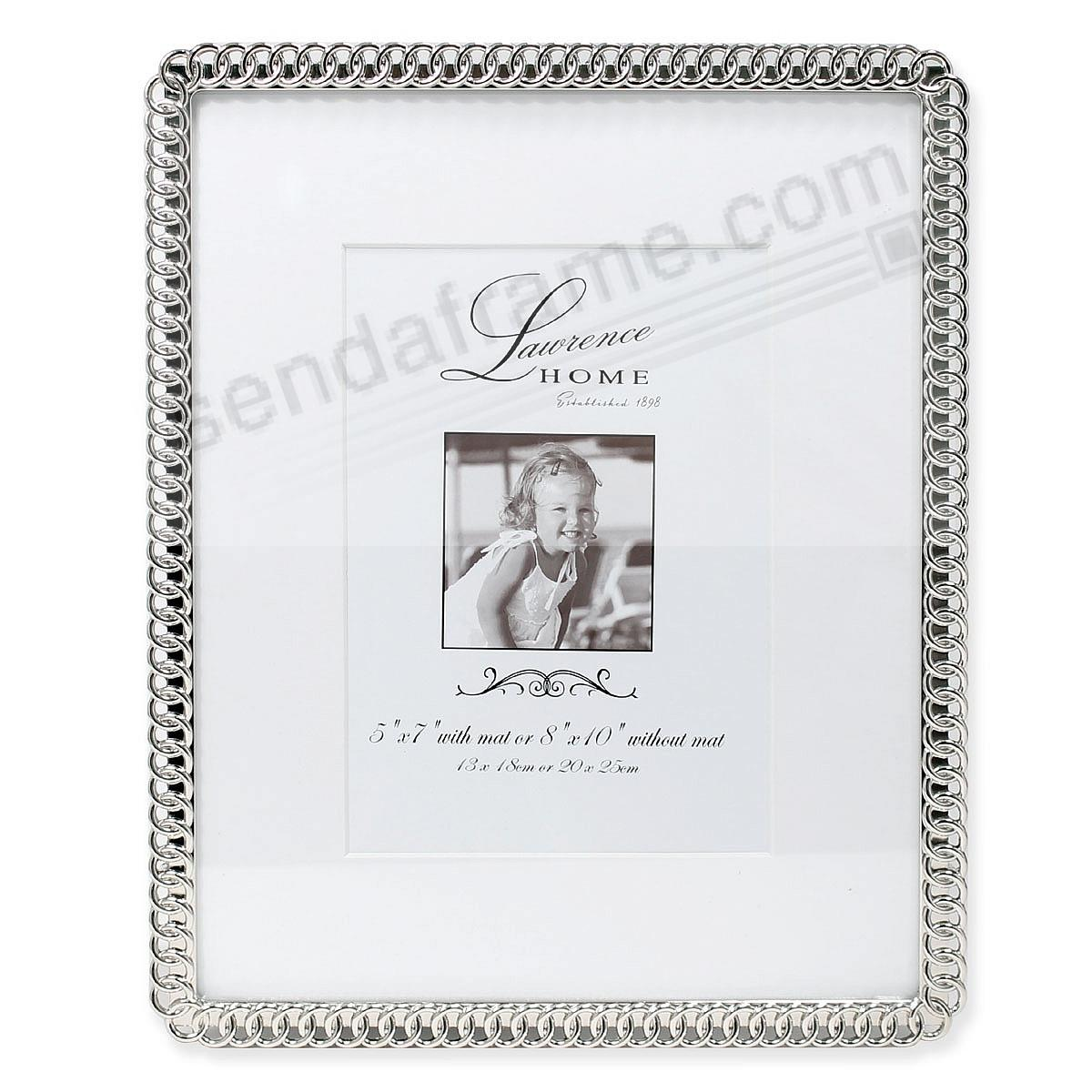 ETERNITY RINGS silverplate 8x10/5x7 frame by Lawrence® - Picture ...