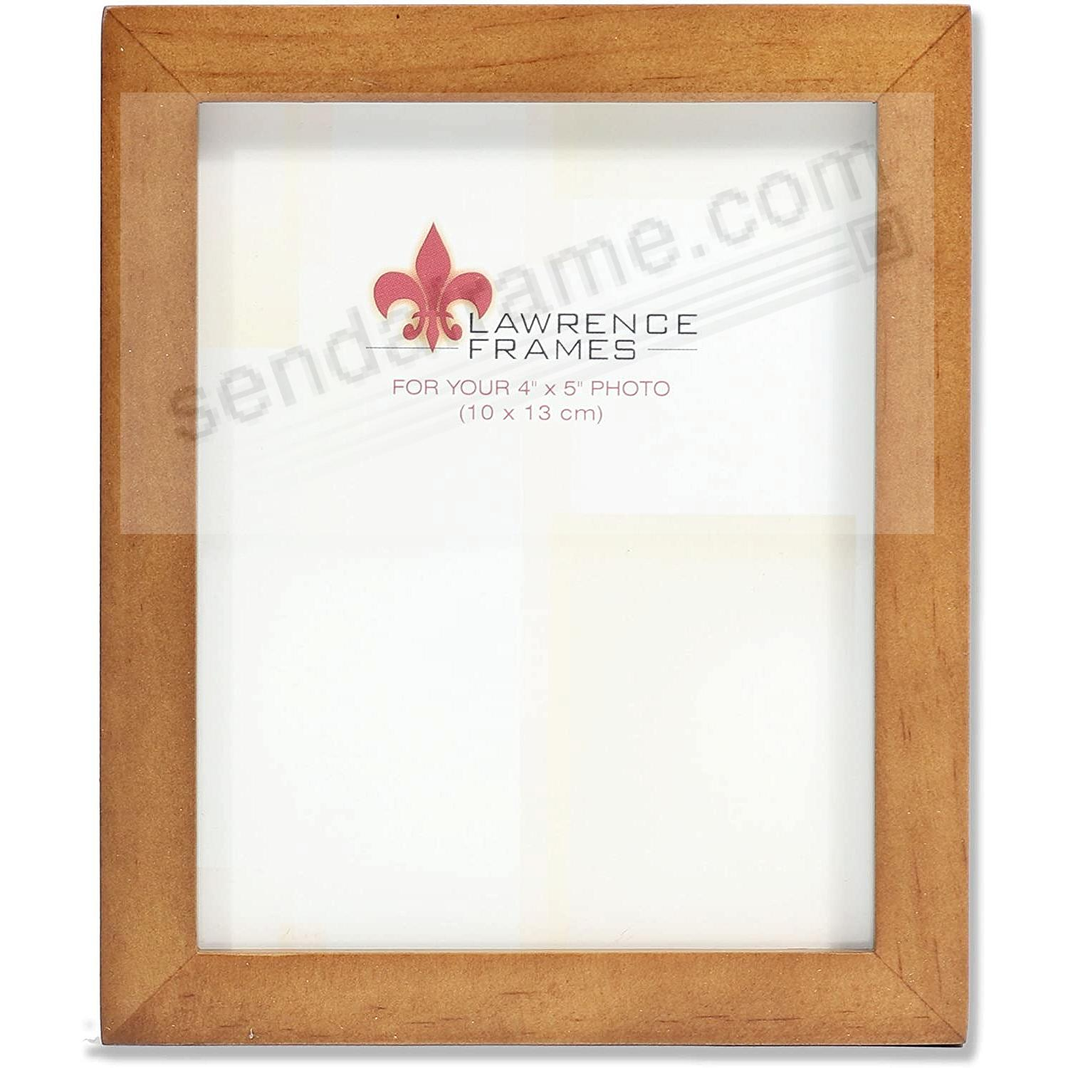 Nutmeg Square Corner 4x5 Frame By Lawrence Picture Frames Photo