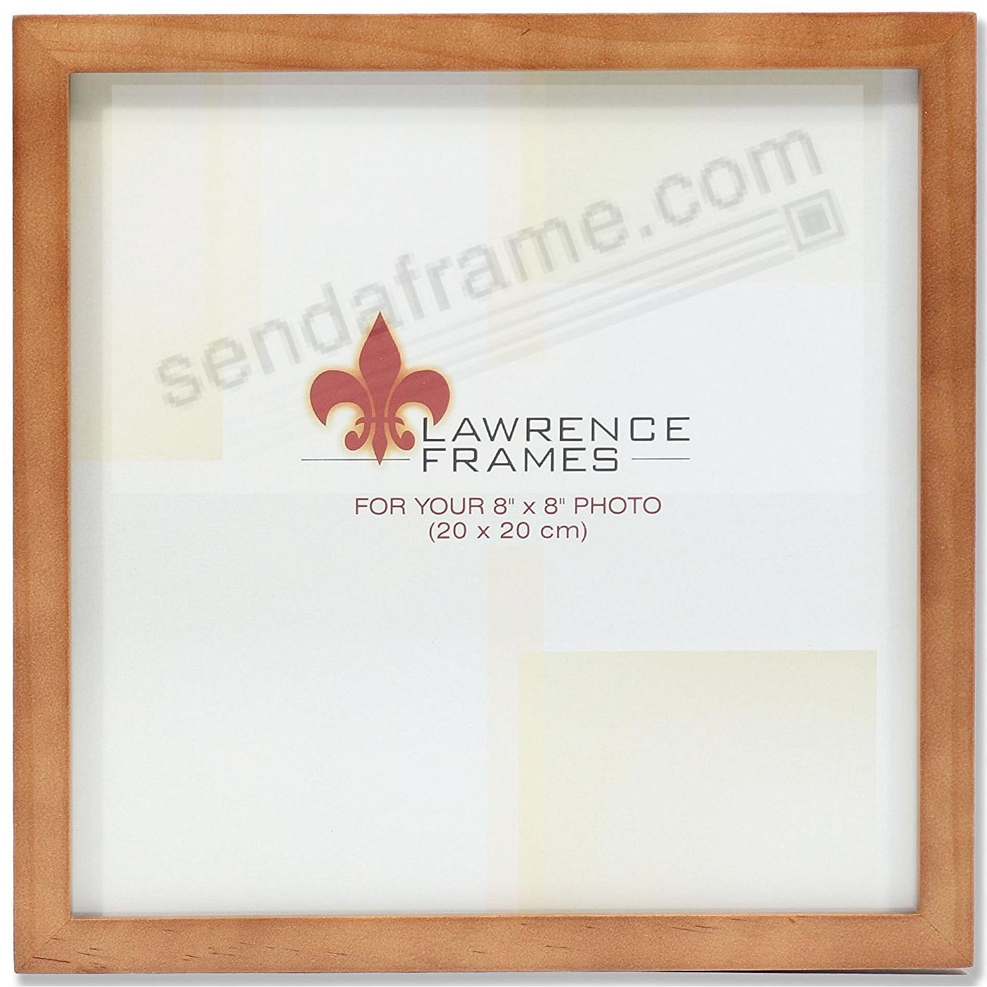 Nutmeg Square Corner 8x8 Frame By Lawrence Picture Frames Photo