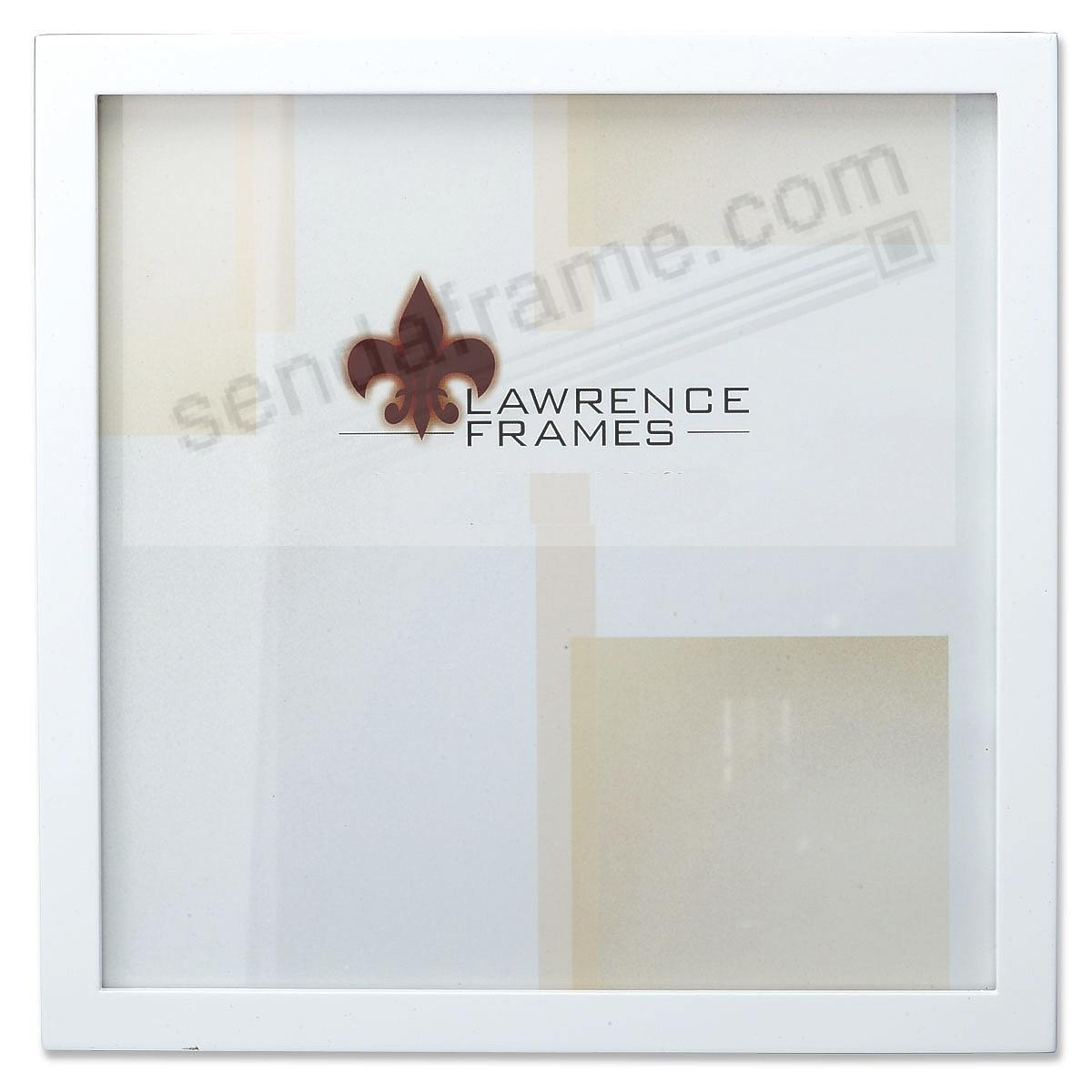 white square corner 12x12 frame by lawrence - White Square Frames