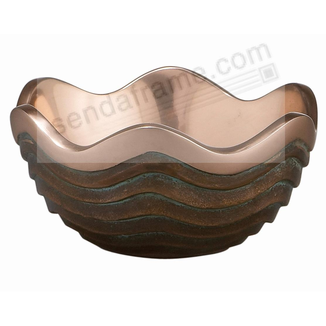The Original 6½oz / 4½inch COPPER CANYON BOWL crafted by Nambe®