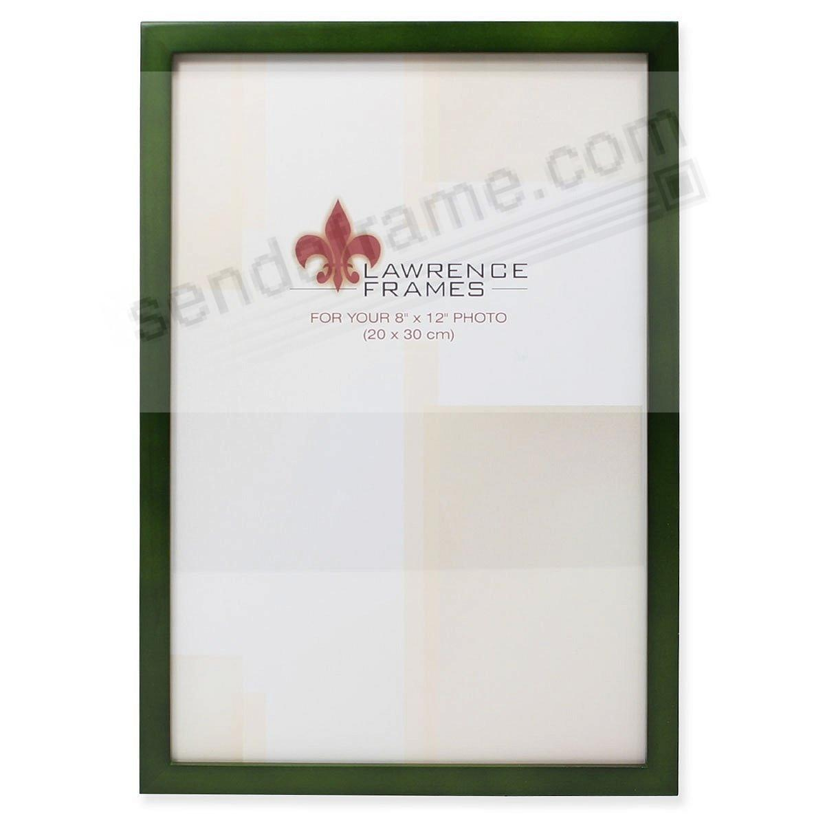 SQUARE CORNER Green Stain classic 8x12 frame by Lawrence Frames®
