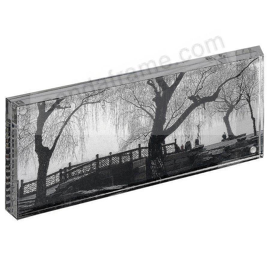 The original acrylic Museum MAGNET FRAME (panoramic) with Graphite ...