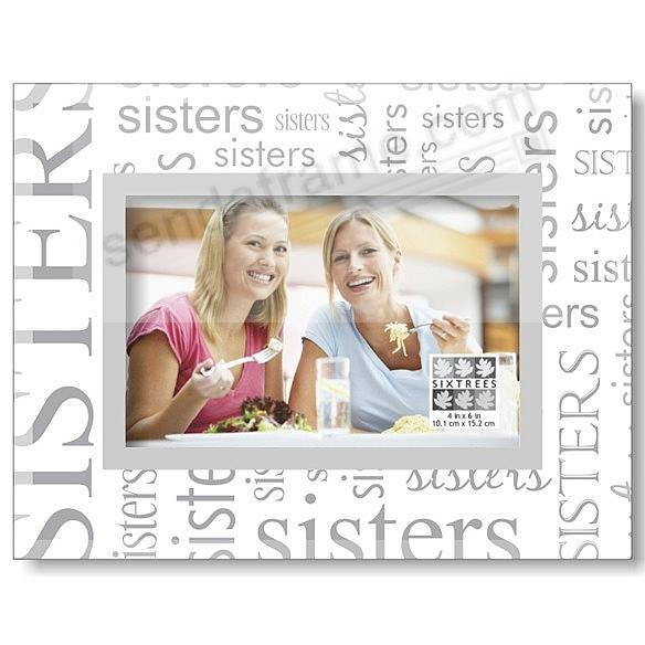 GLASS Expressions SISTERS ALL OVER by Sixtrees® - Picture Frames ...