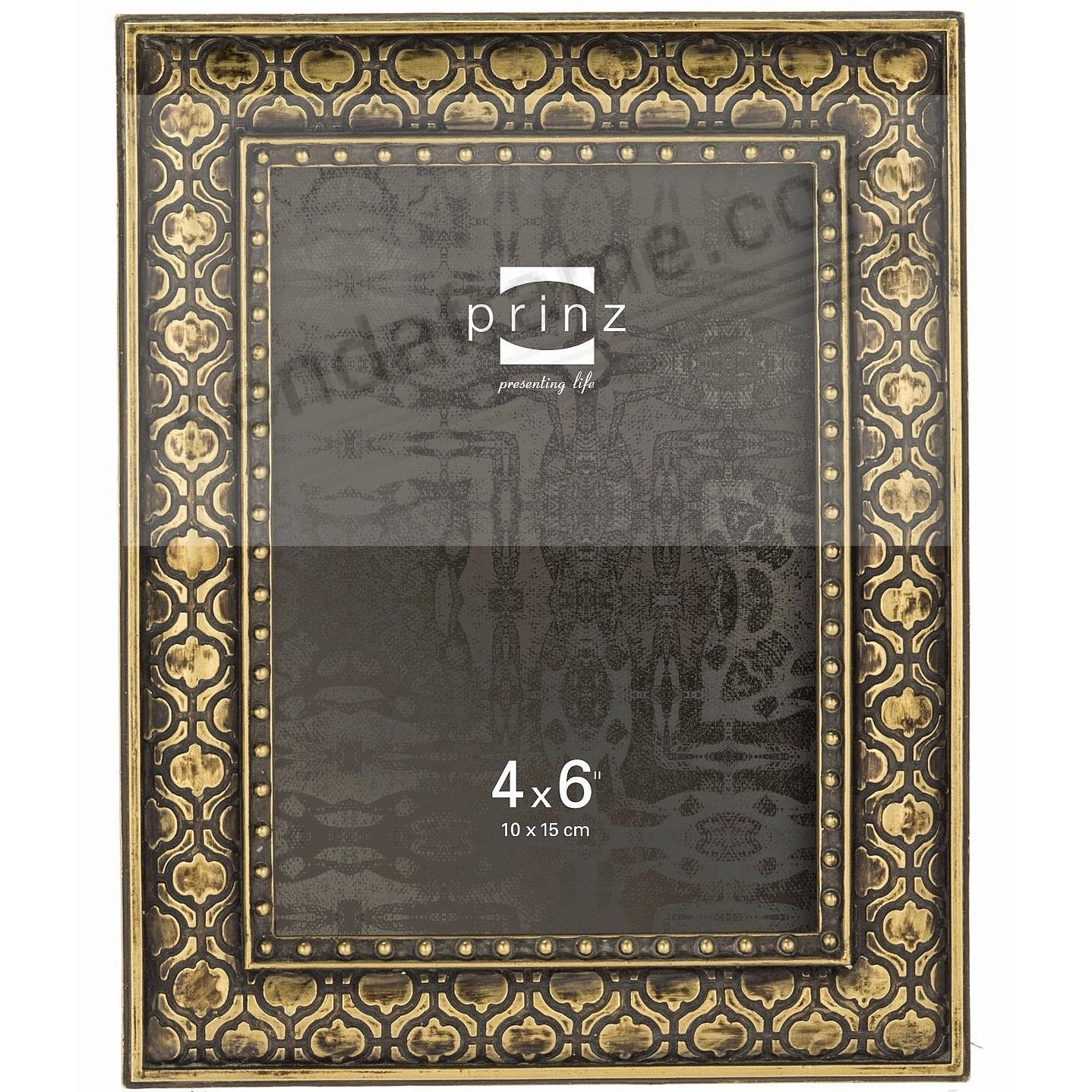 CABOT Arabesque Gold finish 8x10 frame by Prinz® - Picture Frames ...