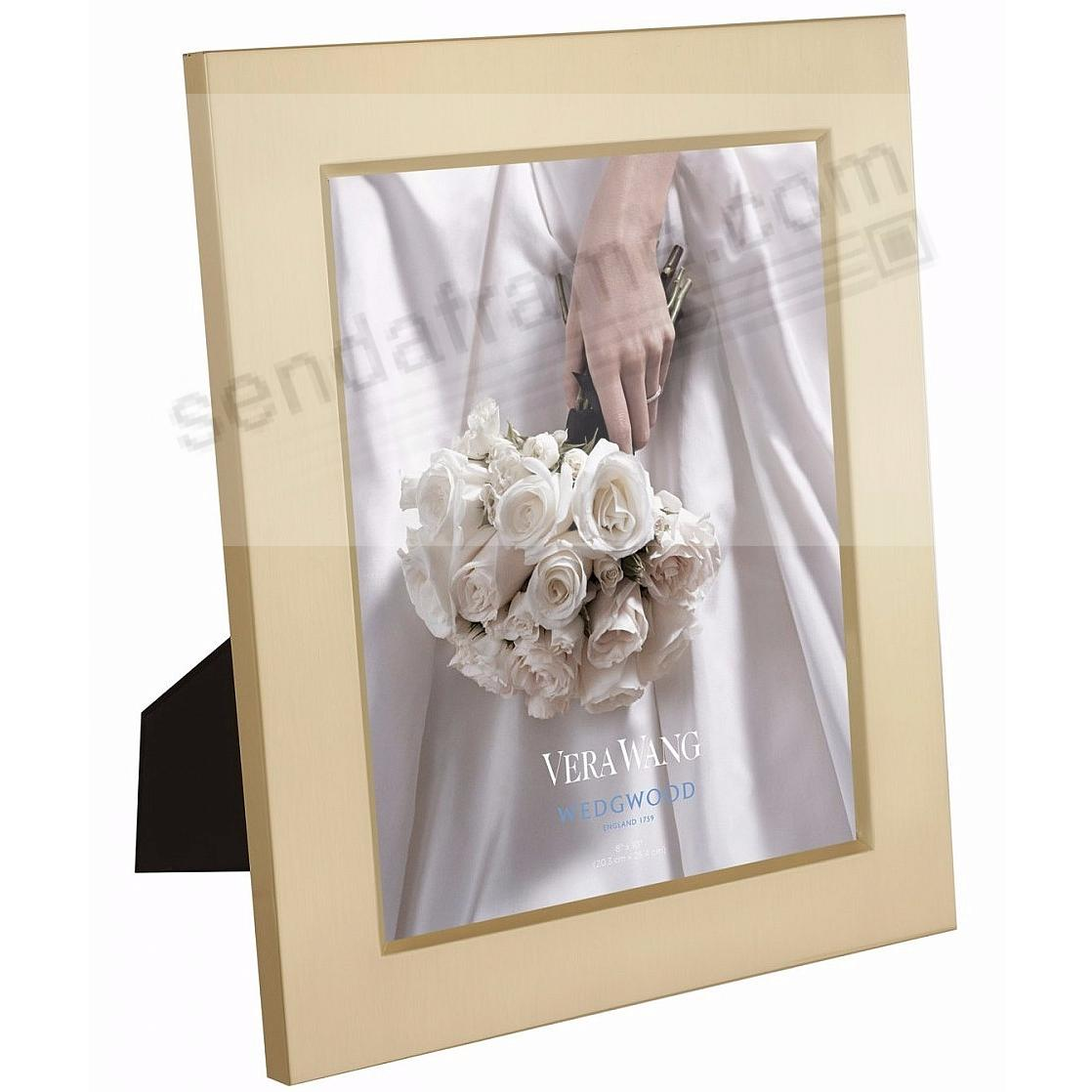 SATIN GOLD 8x10 frame by Vera Wang® for Wedgwood® - Picture Frames ...