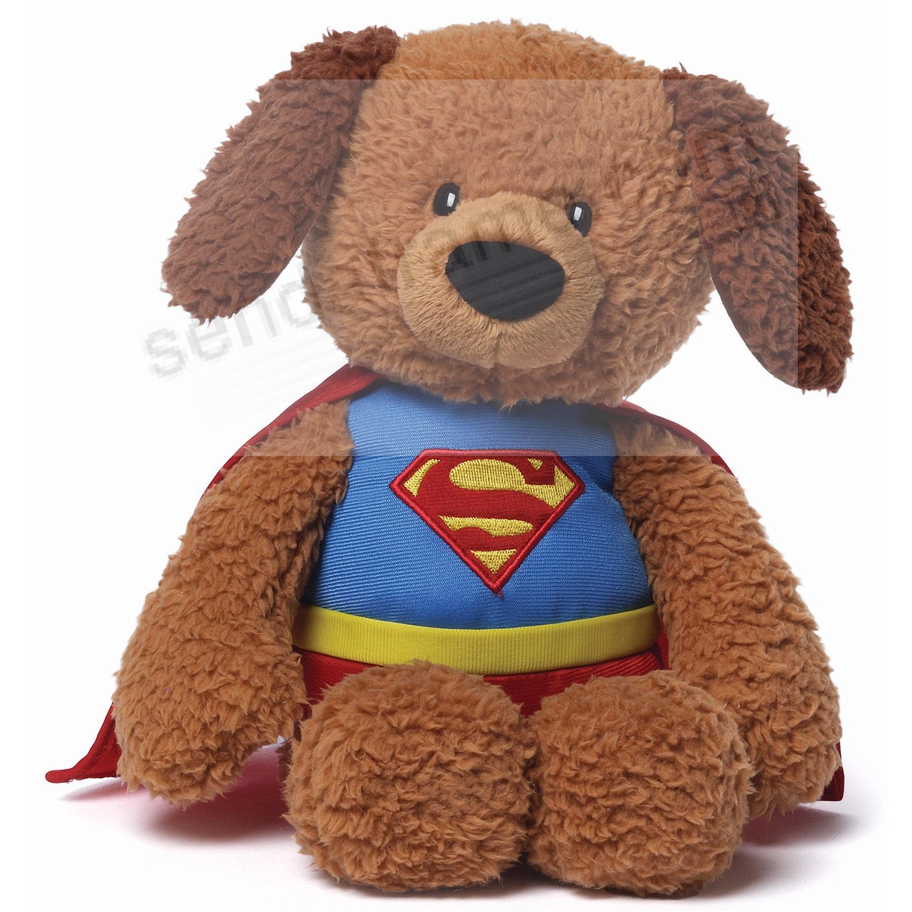 DC Comics SUPERMAN® GRIFFIN 12-inch plush dog toy by Gund®