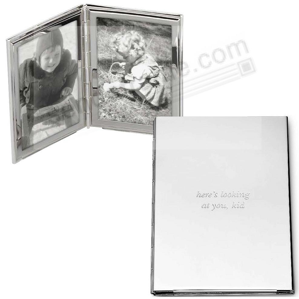 HERES LOOKING AT YOU Silver Pocket/Purse frame by kate spade new ...