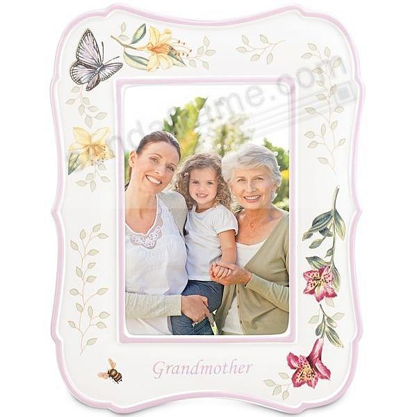 BUTTERFLY MEADOW GRANDMOTHER 4x6 Frame by Lenox® fine china ...