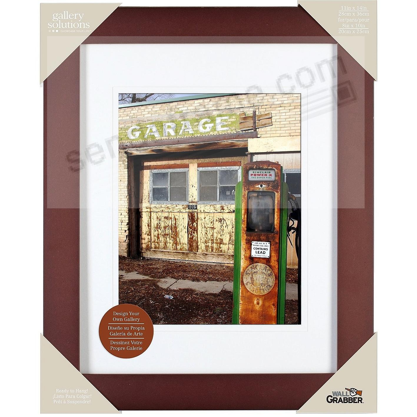 Picture frames photo albums personalized and engraved digital expresso wood wall frame 11x14 matted to 8x10 by gallery solutionstrade jeuxipadfo Choice Image