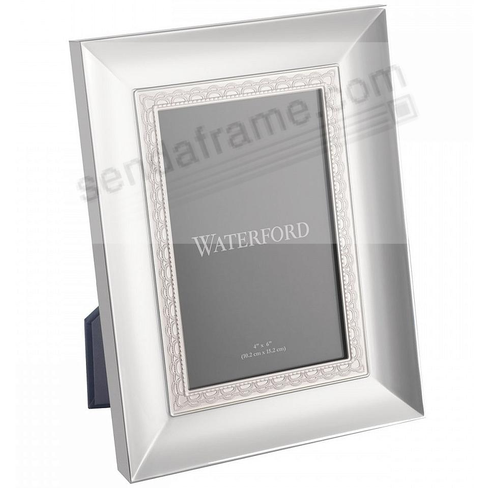 LISMORE LACE patterned 5x7 silver frame by Waterford® - Picture ...