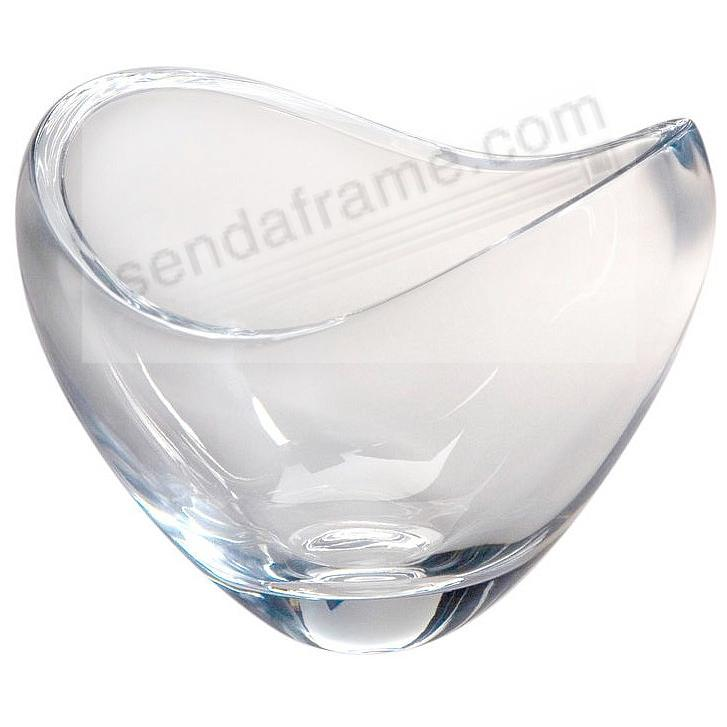 The Original Crystal BUTTERFLY BOWL 4½inch crafted by Nambe®