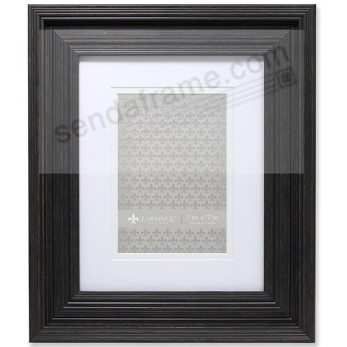 GROOVED Black Matted 8x10/5x7 frame by Lawrence® - Picture Frames ...
