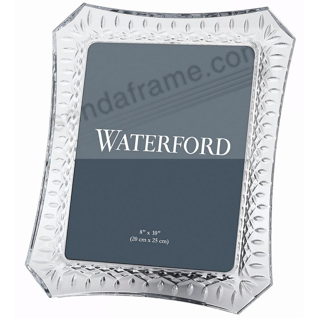 Picture frames photo albums personalized and engraved digital the original lismore 8x10 fine crystal by waterfordreg jeuxipadfo Images