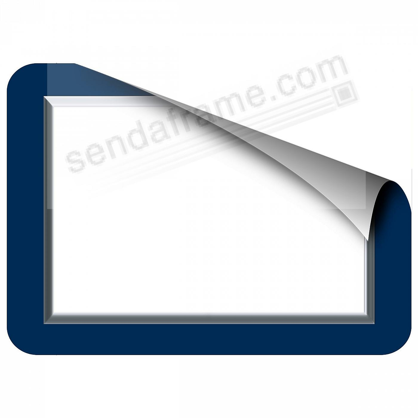 NAVY BEVELED 5x7 Frame with Clear DRY ERASE™ by Fodeez™