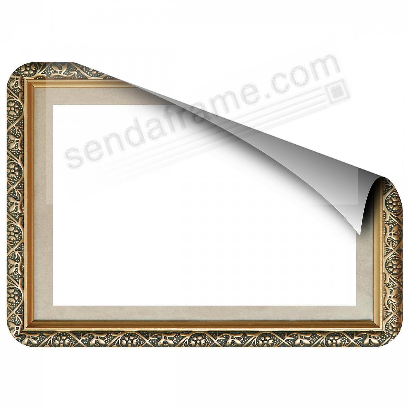 GILDED 5x7 Frame with Clear DRY ERASE™ by Fodeez™