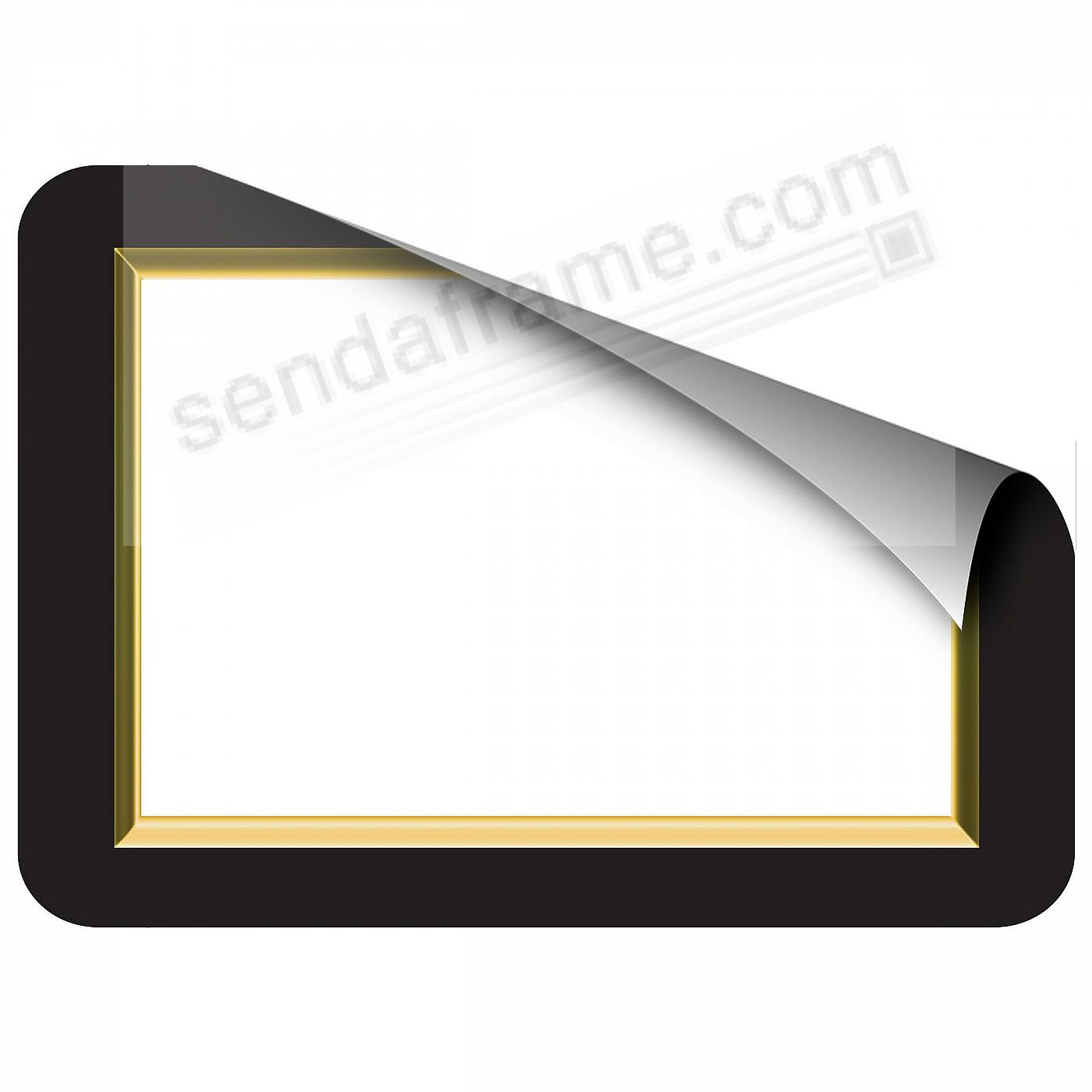 GOLD BEVELED 5x7 Frame with Clear DRY ERASE™ by Fodeez™