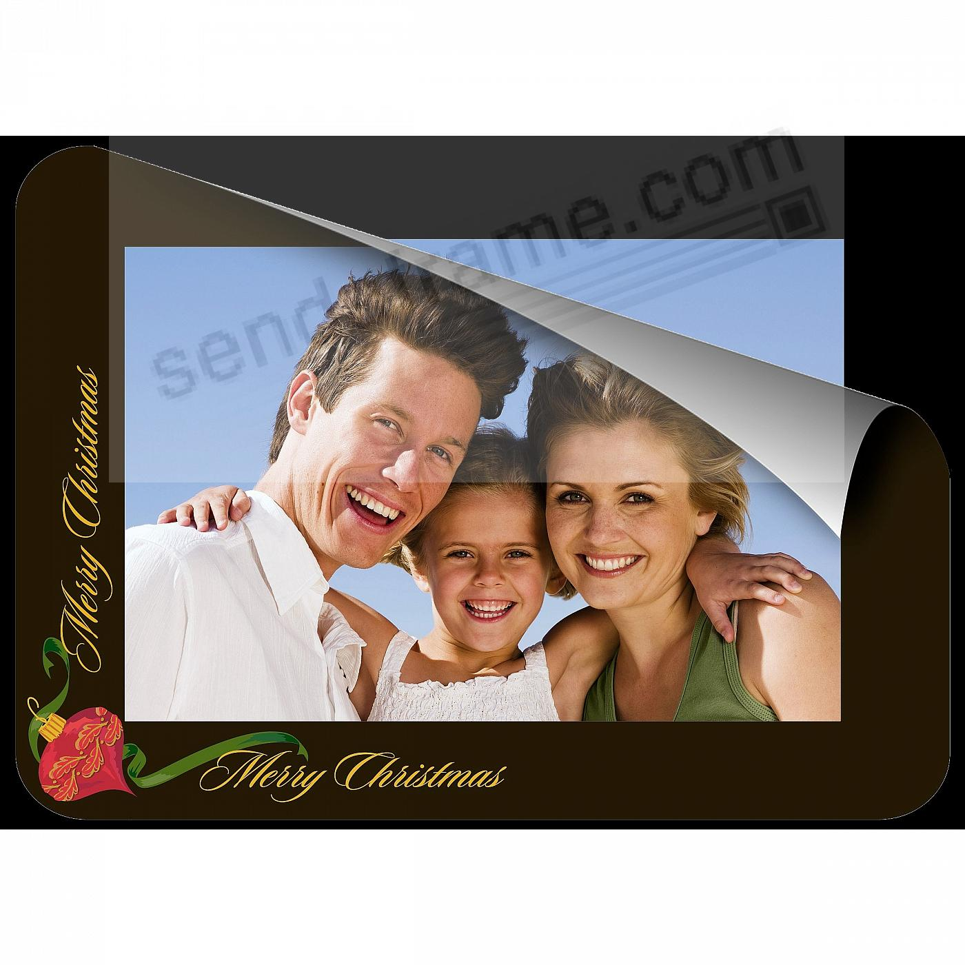 TEXT HOLIDAY Frame with Clear DRY ERASE™ by Fodeez™ SET OF 3