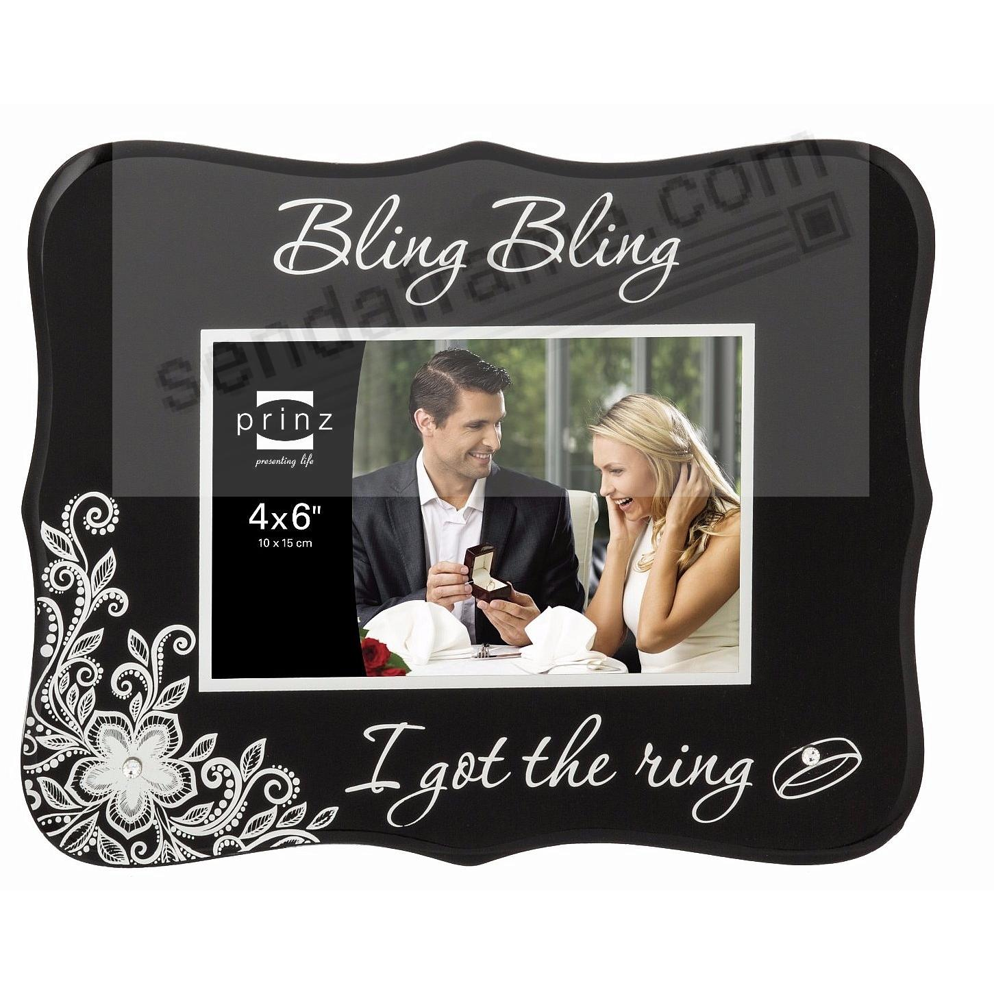 She Said Yes Bling Bling I Got The Ring Frame By Prinz Picture