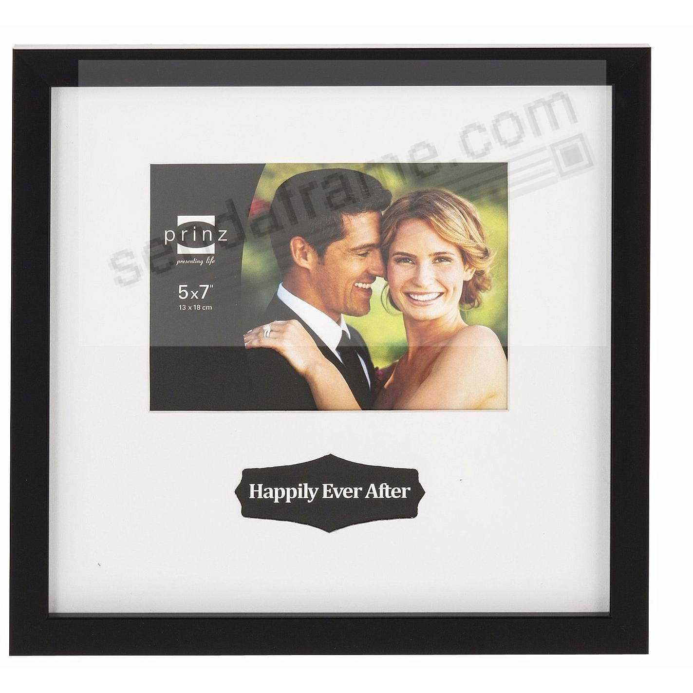 LOVE NOTES Black Styrene frame by Prinz®