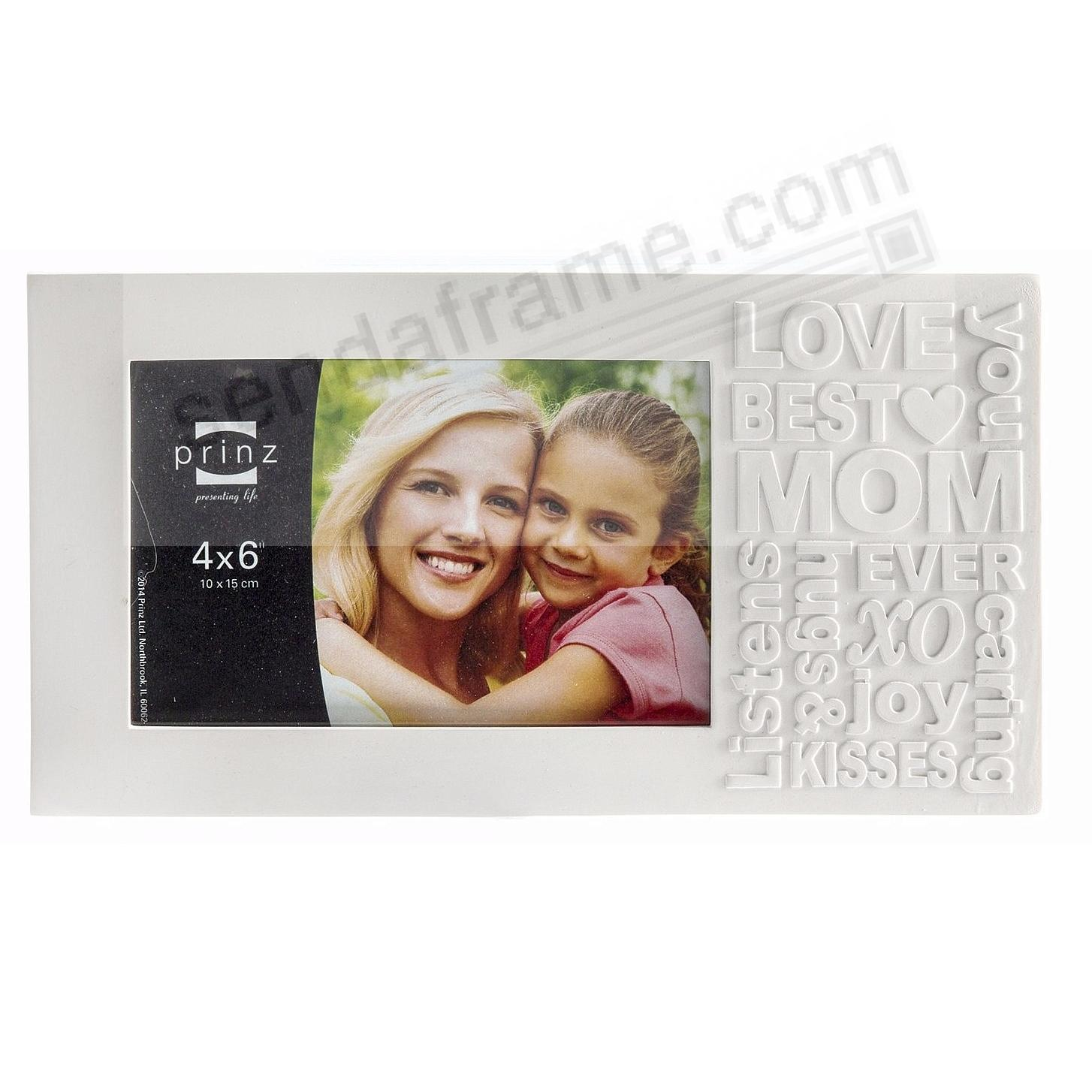 BEST MOM Typography Block Frame by Prinz® - Picture Frames, Photo ...
