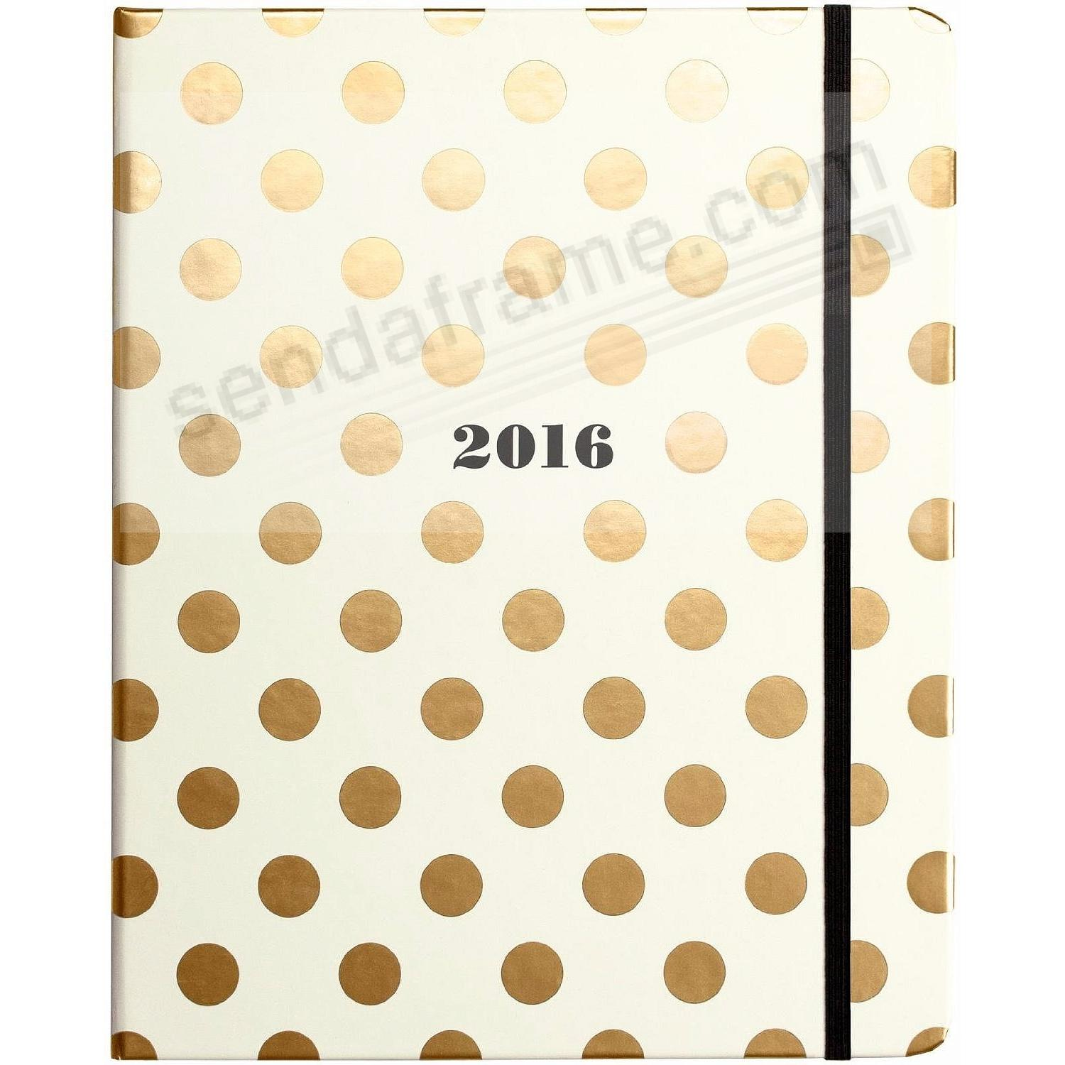 Large 17-month 2016 planner and agenda kate spade new york ...
