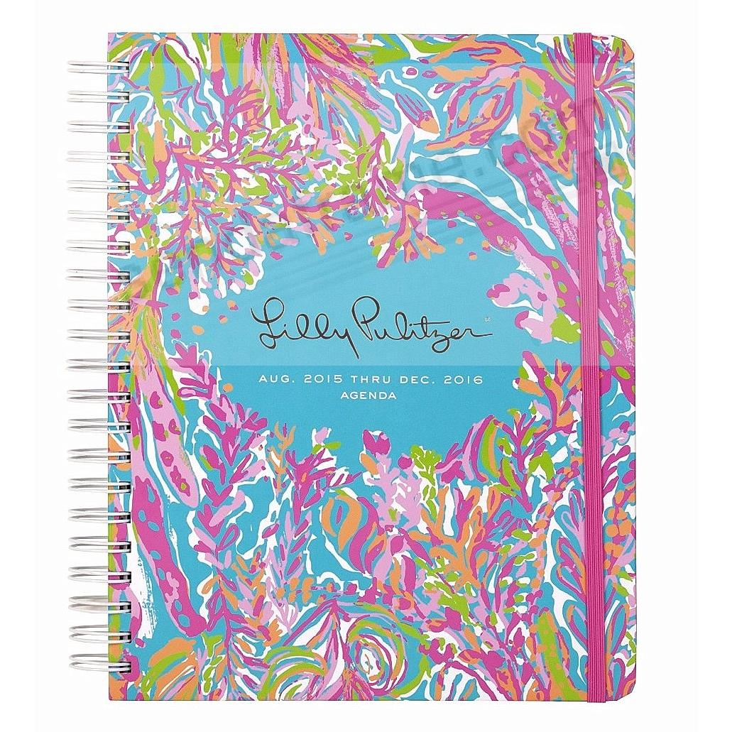 17 month jumbo agenda scuba to cuba by lilly pulitzer