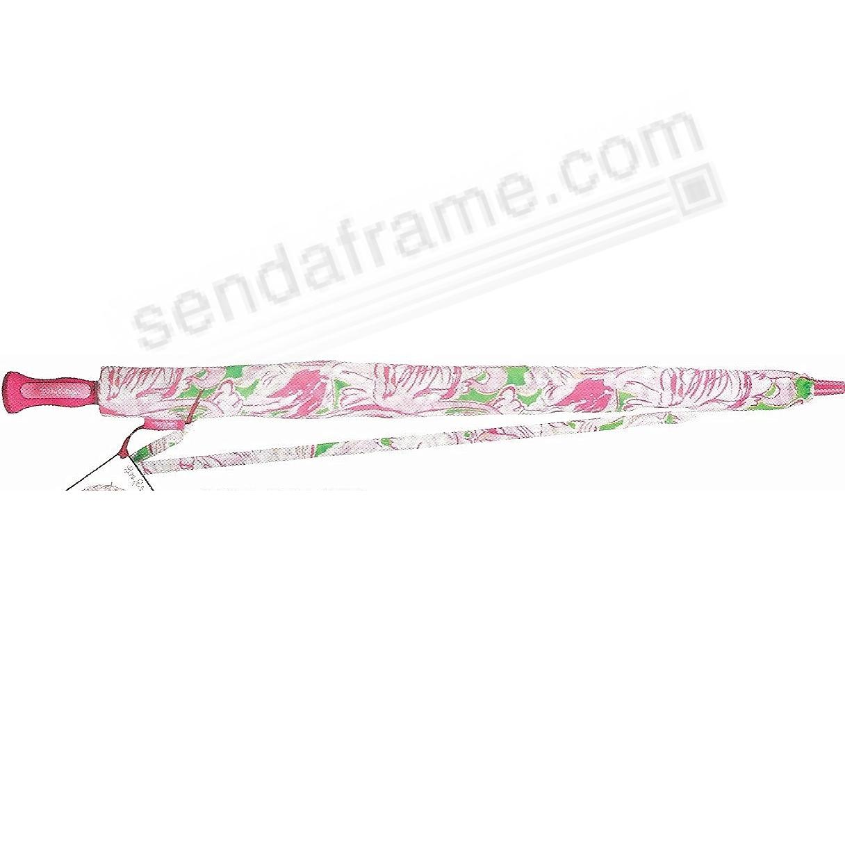 The Original Lilly Pulitzer® PINK COLONY GOLF Umbrella